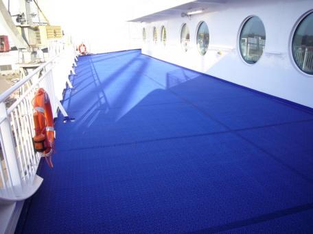 Decksbelag MARINE weltweit auf Fähren